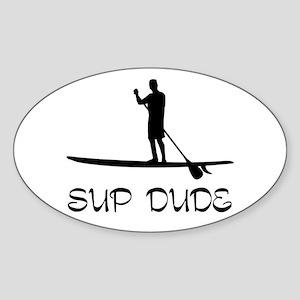 SUP Dude Sticker