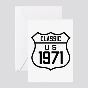 Classic US 1971 Greeting Cards