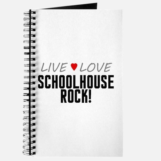 Live Love Schoolhouse Rock! Journal