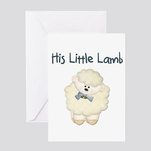 Lamb Greeting Cards