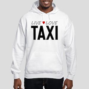 Live Love Taxi Hooded Sweatshirt