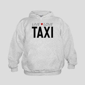 Live Love Taxi Kid's Hoodie