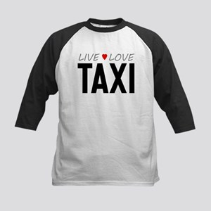 Live Love Taxi Kids Baseball Jersey