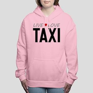 Live Love Taxi Women's Hooded Sweatshirt