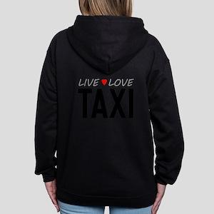 Live Love Taxi Women's Zip Hoodie