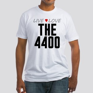Live Love The 4400 Fitted T-Shirt