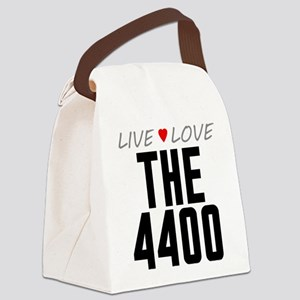 Live Love The 4400 Canvas Lunch Bag
