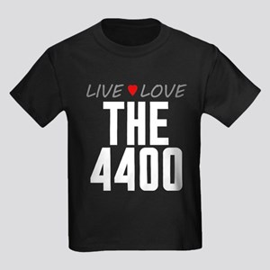 Live Love The 4400 Kids Dark T-Shirt