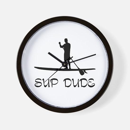 SUP Dude Wall Clock