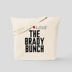Live Love The Brady Bunch Tote Bag