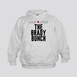 Live Love The Brady Bunch Kid's Hoodie