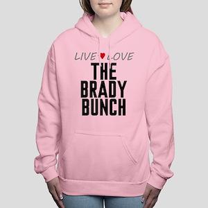 Live Love The Brady Bunch Women's Hooded Sweatshir