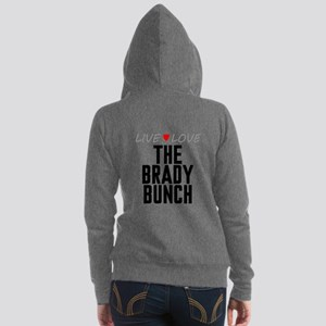 Live Love The Brady Bunch Women's Zip Hoodie