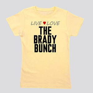 Live Love The Brady Bunch Girl's Tee