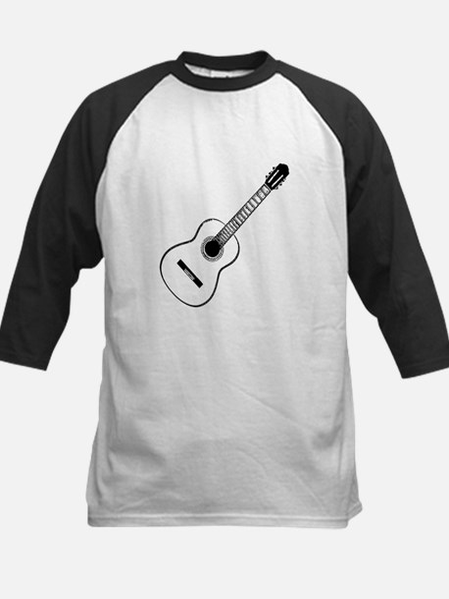 Acoustic Guitar Kids Baseball Jersey