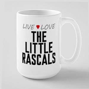 Live Love The Little Rascals Large Mug