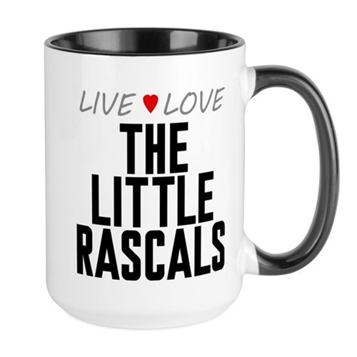 Live Love The Little Rascals Large Mug