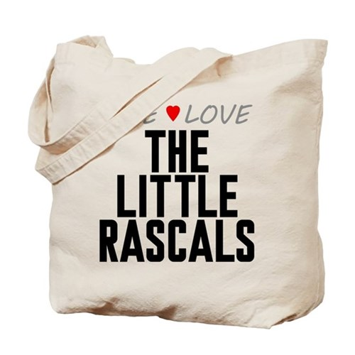 Live Love The Little Rascals Tote Bag