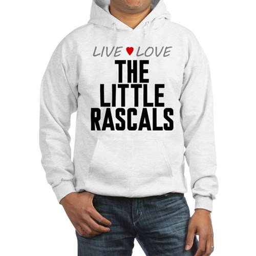 Live Love The Little Rascals Hooded Sweatshirt