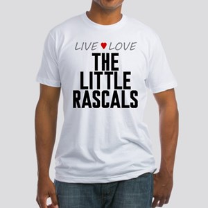 Live Love The Little Rascals Fitted T-Shirt