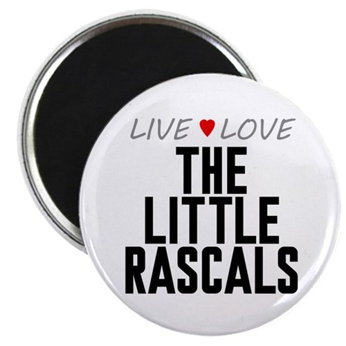 Live Love The Little Rascals Magnet