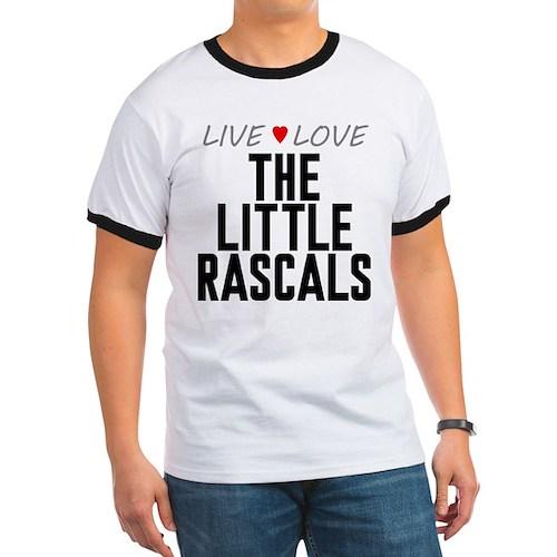 Live Love The Little Rascals Ringer T-Shirt