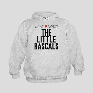 Live Love The Little Rascals Kid's Hoodie