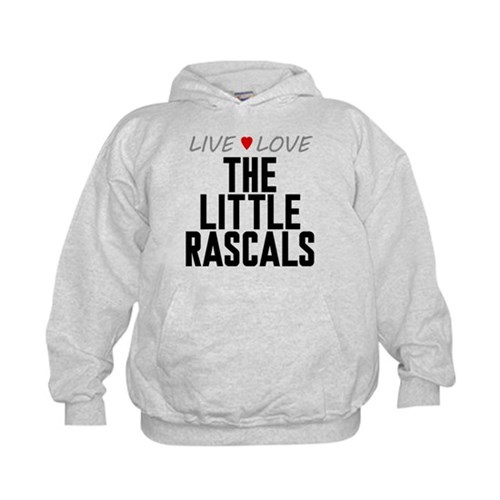 Live Love The Little Rascals Kid's Hoodie