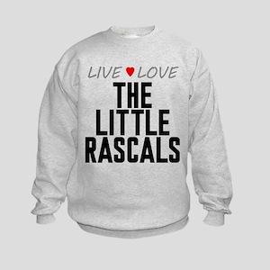 Live Love The Little Rascals Kids Sweatshirt