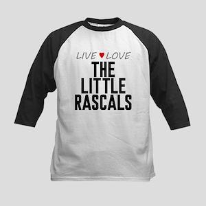 Live Love The Little Rascals Kids Baseball Jersey