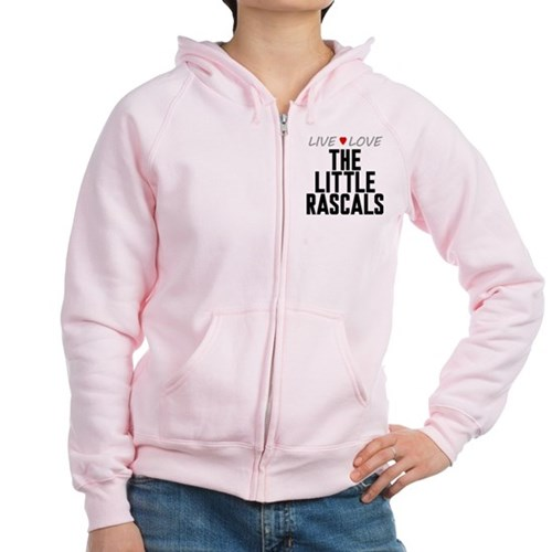 Live Love The Little Rascals Women's Zip Hoodie