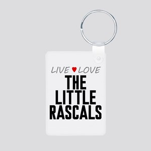 Live Love The Little Rascals Aluminum Photo Keycha