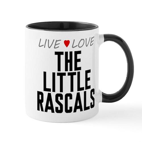 Live Love The Little Rascals Mug