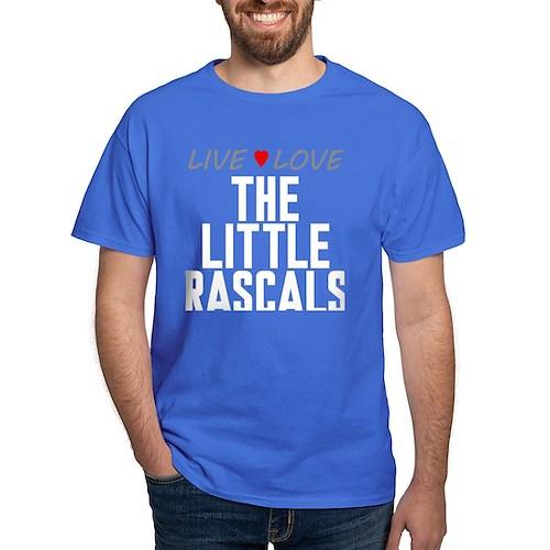Live Love The Little Rascals Dark T-Shirt