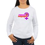Pretty & Dangerous Women's long Jiu Jitsu shirt