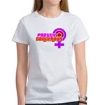 Pretty, Dangerous martialart tee shirt for girls