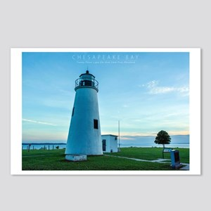 Turkey Point Light Maryla Postcards (Package of 8)