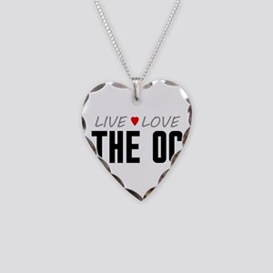 Live Love The OC Necklace Heart Charm