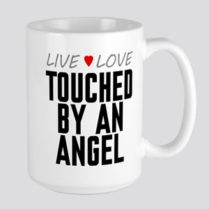 Live Love Touched by an Angel Large Mug