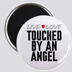 Live Love Touched by an Angel Magnet