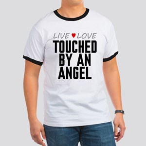 Live Love Touched by an Angel Ringer T-Shirt