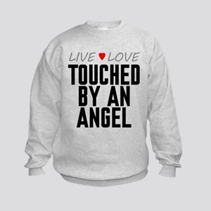 Live Love Touched by an Angel Kids Sweatshirt