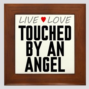 Live Love Touched by an Angel Framed Tile