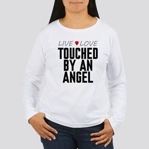 Live Love Touched by an Angel Women's Long Sleeve