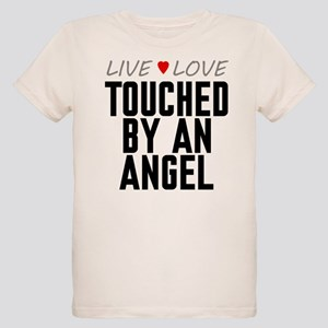 Live Love Touched by an Angel Organic Kid's T-Shir
