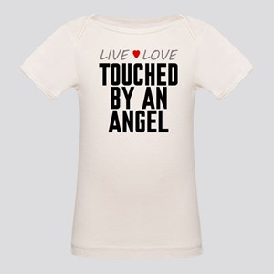 Live Love Touched by an Angel Organic Baby T-Shirt