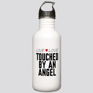 Live Love Touched by an Angel Stainless Water Bott
