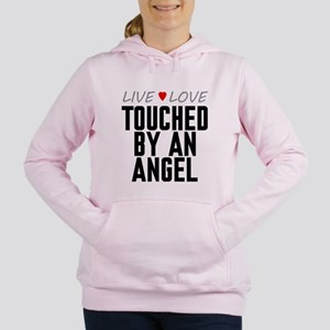 Live Love Touched by an Angel Women's Hooded Sweat