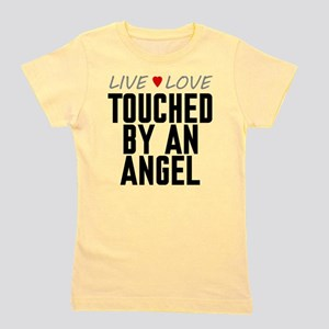 Live Love Touched by an Angel Girl's Tee