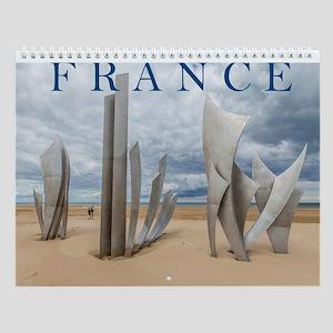 Fascinating France Wall Calendar